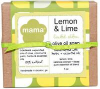 Lemon + Lime Soap - Gift Wrapped | Mama Bath + Body