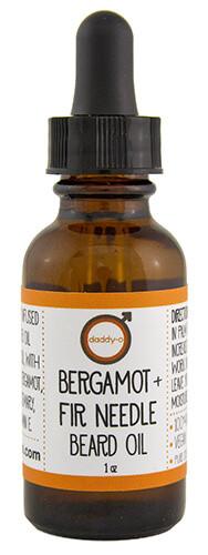 Bergamot + Fir Needle Beard Oil | Mama Bath + Body