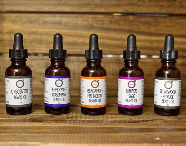 Peppermint + Rosemary Beard Oil | Mama Bath + Body