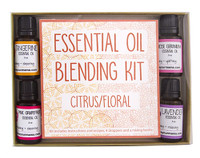 Essential Oil Blending Kit - Citrus/Floral | Mama Bath + Body