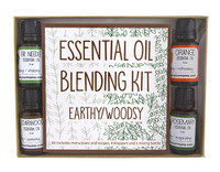 Essential Oil Blending Kit - Earthy/Woodsy   Mama Bath + Body