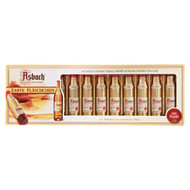 Asbach Uralt Liqueur Filled Bottles with Sugar Crust 150g - 5Oz - 12 Pcs