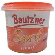 Bautz'ner Senf / Bautz'ner Hot Mustard 200ml