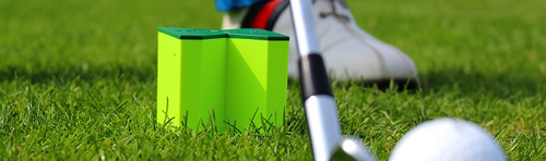 GOLF-X-CUBE - play better golf with the ultimate golf training tool, which fits well in your golf bag. No Pro needed!