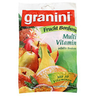 Granini Multi Vitamin Bonbons Bag of 150 grams / 5.3 Oz Granini Fruit Candies