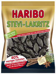 Haribo Stevia Licorice 100g / 3.5 Oz Sugar Free