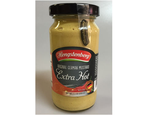 Spicy german dijon mustard with a little bit of chills for the extra kick!