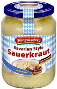 Bavarian Style Wine Sauerkraut, Jar of 680g-24 oz