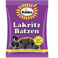 Katjes Lakritz Batzen 200g / 7oz (Soft Licorice)