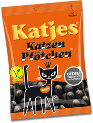 Katjes Katzen Pfoetchen Cat Paw, Bag of 500 Grams / 17.6 Oz