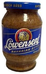 Düsseldorfer Löwensenf Suess - Bavarien Sweet Mustard 9.3 oz (265gram)