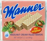 Manner Hazelnut cream filled Wafers Neapolitaner