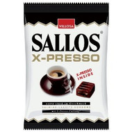 Villosa Sallos X-Presso Coffee filled Licorice, 135 g - 4.76oz
