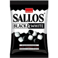 Sallos Black & White 135g - 4.8 oz