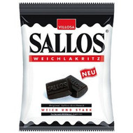 Sallos Weich Lakritze 150g / 5.3 Oz (Soft Licorice)