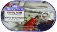 Rügenfisch Herring Fillets in horseradish sauce tin 200g - 7.05 oz