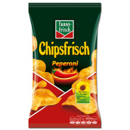 Funny-Frisch Chipsfrisch Pepperoni  ( 175 g / 6.17 Oz )