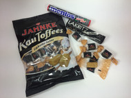 Yummy, the best selection of yummy chew licorice: mentos licorice, jahnke licorice toffee and van melle toffee!