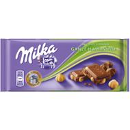 Milka Ganze Haselnuss - Milk Chocolate with whole hazelnuts 100g - 3.52 Oz