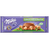 Milka Ganze Haselnuss Family XXL - Milk Chocolate with whole hazelnuts 250g - 8.81 Oz