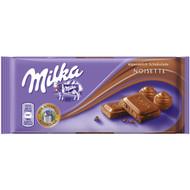 Milka Noisette (Hazelnut Milk Chocolate Confection) 100g - 3.52 Oz