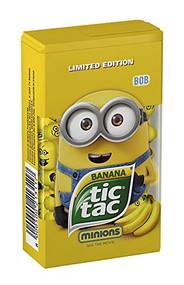 Tic Tac Banana Minions BOB Med Box 1.73 Oz - 49g