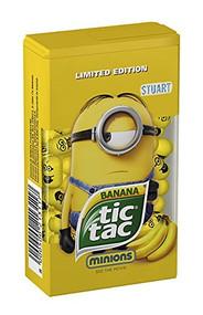 Tic Tac Banana Minions STUART Med Box 1.73 Oz - 49g