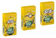 Tic Tac Banana Minions Bundle all Three MED Box 1.73 Oz - 49g