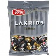 Toms Licorice Karameller Lakrids Toffee 160g / 5.64 Oz (Soft Licorice)