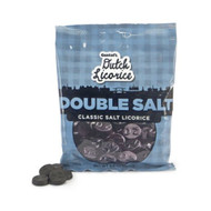 Gustaf's Dutch Licorice DoubleSalt Dubbel Zout (high on salt!)  Bag 150g - 5.29oz