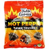 Gustaf's Dutch Licorice Hot Pepper Fire Trucks Bag 150g - 5.29oz