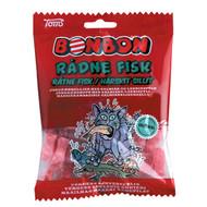 Toms Bonbon Rådne Fisk Salmiak & Strawberry Hard Candys Bag 125g - 4.4oz