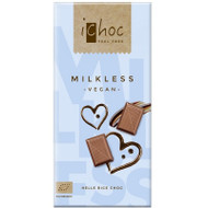 ichoc VEGAN Chocolate Bar Milkless Milchocolate 80g - 2.82 Oz