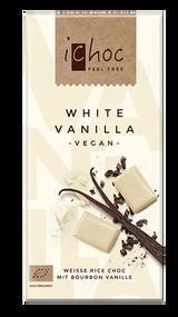 ichoc VEGAN White Vanilla 80g - 2.82 Oz