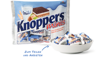 Stock Knoppers Single wrapped Minis - 200g - 7.05Oz