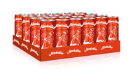 24 Tins of Almdudler Soda ( 0.33 l ) Sleek Can (Full retail case)