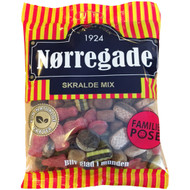 Nørregade (Norregade)  Skralde Mix Danish hard licorice mix with 310g - 10.93Oz