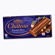 Chateau Trauben Nuss - Grape & Whole Nut - Milk Chocolate 200g - 7.05 Oz
