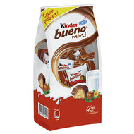 kinder bueno mini - mini-waffle bar (about 17 pieces) with filling of fine milk-hazelnut cream  97g - 3.42Oz