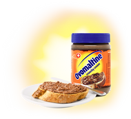 OVOMALTINE of Switzerland Crunchy Cream hazelnut chocolate spread 400g - 14.11Oz