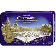 Dr. Quendt Dresdner Christstollen Gift Tin 1KG - 35.2oz - 2.2lbs