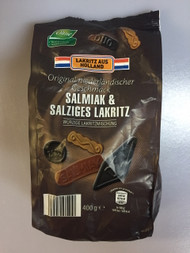 Drops van Holland - Salmiak & Salty Licorice - Salmiak & Zoute Drop Bag of 400g - 14.11oz