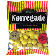 Nørregade (Norregade)  Tygge-Måner Danish hard candy  310g - 10.93Oz