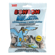 Toms Bonbon Mågeklatter Bag of 125g - 4.41Oz (Hard Candy with salmiakfilling)