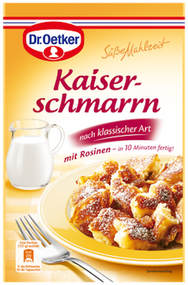 Dr. Oetker Suesse Mahlzeit Kaiserschmarrn with Raisins (Egg needed!) 165g