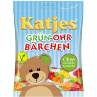 Katjes Green Ear Bears - Gruen Ohr Baeren Bag of 200 Gram / 7 Oz Veggie