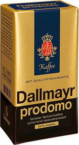 Dallmayr Prodomo 500g - 17.6Oz finest ground german coffee 100% Arabica