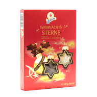 Halloren Weihnachtssterne Nougat Edition xMas Stars Nougat  137g - 4.8Oz GiftBox