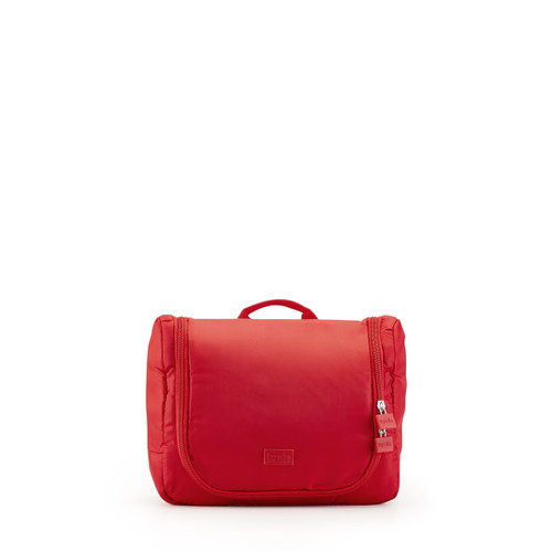 toiletry organiser (large) red