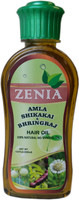 Zenia Amla Shikakai Bhringraj Hair Oil 100% Natural No Mineral Oil 200ml